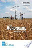 Une agronomie pour le XXIe siècle