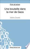 Une bouteille dans la mer de Gaza de Valérie Zénatti (Fiche de lecture)