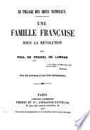 Une famille française sous la révolution