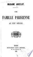 Une famille parisienne au XIXe siècle