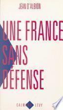 Une France sans défense