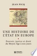 Une histoire de l'État en Europe