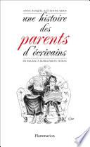 Une histoire des parents d'écrivains