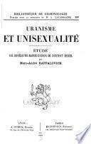 Uranisme et unisexualité
