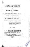 Vains efforts de plusieurs évêques, et de Mm. Vrindts, Picot, Lambert, Curzon, A...... G....... etc. en faveur de la jonglerie de Migné