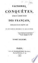 Victoires conquêtes revers et guerres civiles des français