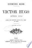 Victor Hugo après 1852