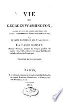 Vie de Georges Washington