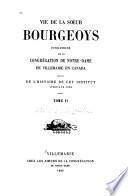 Vie de la soeur Bourgeoys