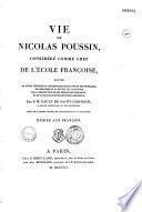 Vie de Nicolas Poussin, considéré comme chef de l'école française