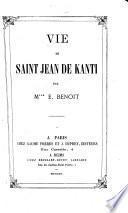 Vie de Saint Jean de Kanti