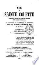 Vie de Sainte Colette