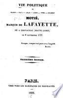 Vie politique de Marie-Paul-Jean-Roch-Yves-Gilbert Motié