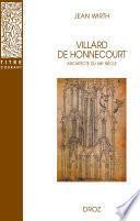 Villard de Honnecourt, architecte du XIIIe siècle