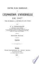 Visites d'un ingénieur à l'Exposition Universelle de 1867