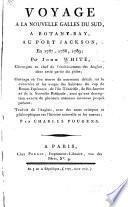 Voyage à la Nouvelle Galles du Sud, à Botany-Bay, au Port Jackson, en 1787-1789