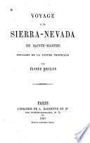 Voyage à la Sierra-Nevada de Sainte-Marthe
