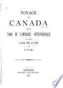 Voyage au Canada