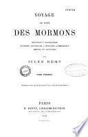 Voyage au pays des Mormons