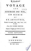 Voyage aux sources du Nil, en Nubie et en Abyssynie, pendant les années 1768, 1769, 1770, 1771: y 14