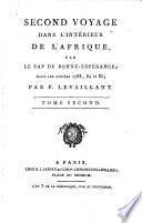 Voyage dans l'interieur de l'Afrique (etc.) Nouv. ed