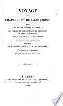 Voyage de Chapelle et de Bachaumont
