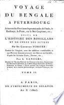 Voyage du Bengale à Pétersbourg. ... Traduit de l'Anglais, avec des additions considérables et une notice chronologique des Khans de Crimée d'après les écrivains Turks, Persans, etc., par L. Langlès