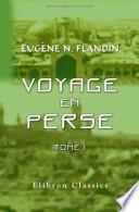 Voyage en Perse de Mm
