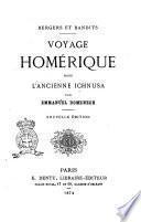 Voyage homérique dans l'ancienne Ichnusa par Emmanuel Domenech