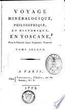 Voyage minéralogique philosophique et historique en Toscane