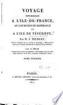 Voyage pittoresque à l'Ile-de-France, au Cap de Bonne-Espérance et à l'Ile de Ténériffe