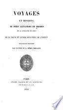 Voyages et missions du père Alexandre de Rhodes de la Compagnie de Jésus en la Chine et autres royaumes de l'Orient