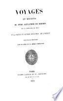 Voyages et missions du Père Alexandre de Rhodes