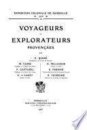 Voyageurs et explorateurs provençaux