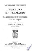Wallons et Flamands