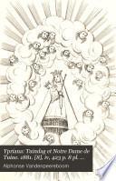 Ypriana: Tuindag et Notre Dame de Tuine. 1881. [8], iv, 423 p. 8 pl. (2 fold.), 1 fold. plan