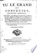 Yu le Grand et Confucius